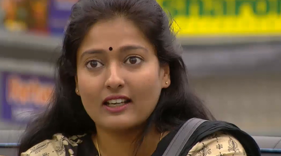 Gayathri to be eliminated this week! Leaked Photo hints